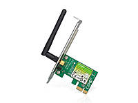 Беспроводной сетевой адаптер на базе шины PCI Express со скоростью передачи данных до 150 Мбит/с TL-WN781ND, фото 1