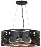 Люстра подвесная  HN 8151 black,Φ395*H1250, 3XE27