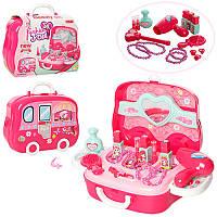 Игрушечный чемоданчик с косметикой для девочек 008-917А