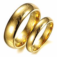 """Парные кольца """"Всевластие"""" из карбида вольфрама, жен. 16.5, 17.3, муж. 18, 20, 20.7, 21.5, 22.3, 23"""