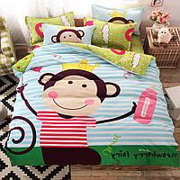 Комплект постельного белья Monkey (полуторный) Berni, фото 1