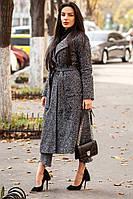Пальто женское модное шерстяное на утеплителе слимтекс 2 расцветки Gdi219