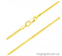 Золотая цепочка Колосок лимонное золото