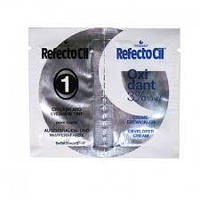 Пробник краски RefectoCil №1 Pure Black(глубокая черная), 1+1мл