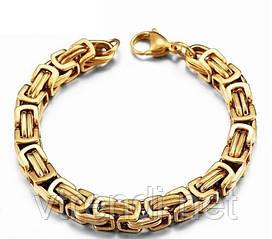 Мужской Браслет Steel Rage ( gold)