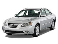 Накладка капота хром (кпл. с прокладкой) (Hyundai Sonata) 2008-2010 (NF)
