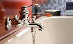 Настенные смесители для ванны