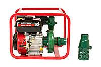 Мотопомпа WEIMA WMQBL65-55 (высоконапорная для капельного полива, 60 куб.м/час)