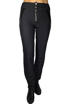 Женские классические брюки № 145 черные, фото 2