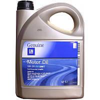 Моторное масло GM Dexos 2 Longlife 5W-30, 5 литров