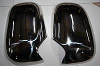 Нержавеющие накладки на зеркала Ford Transit 1994-2001 (2шт)