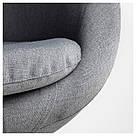 СКРУВСТА Кресло, серое , 302.800.04, фото 5