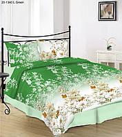 Постельный комплект белья двойной 20-1340 l green