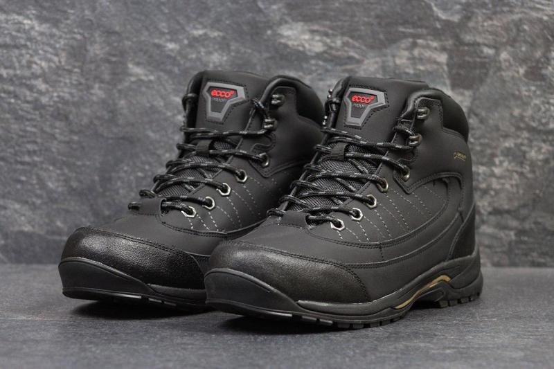 802200373981f5 Чоловічі зимові кросівки Ecco Proof чорні (3526), ...