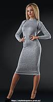 Силуэтное платье с болеро.