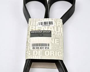 Поліклинові (ручейковий) ремінь на Renault Trafic II 2006->2014 (ALT, -AC)-Renault (Оригінал) - 82 00 431 014