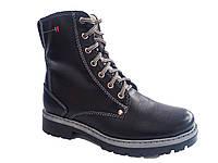 Женские зимние черные ботинки In-Trend 2328 bl