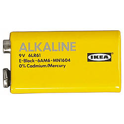 АЛКАЛИСК батарейка щелочная