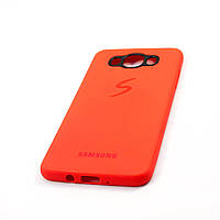 Чехол-накладка Matte Soft Case Samsung J710 (J7-2016) Red, фото 1