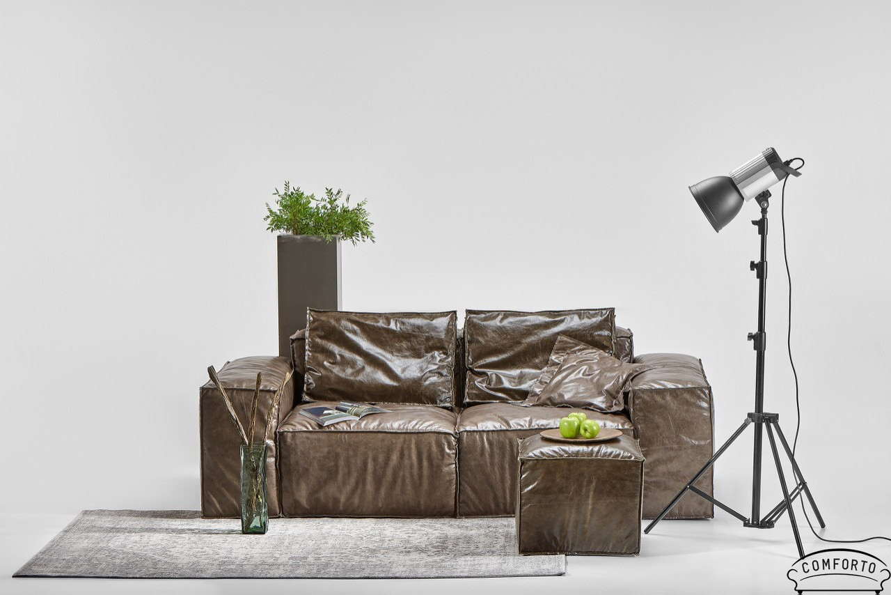 Кожаный диван Медисон