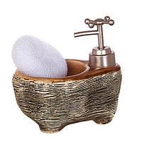 Набор для ванной комнаты Lefard Камень 2 предмета 500мл, 755-105