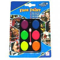 Краска пальчиковая для лица