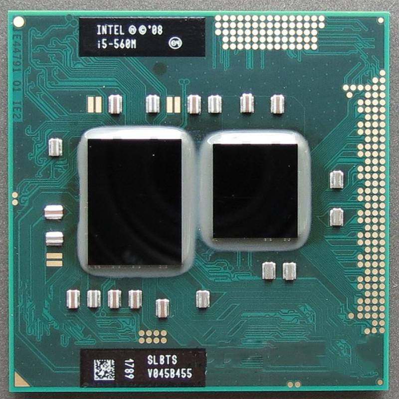 Процессор Intel Core i5-560M Socket G1 (rPGA988A) для ноутбука
