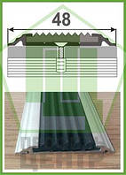 Резиновая накладка на ступень от ООО Профиль-Центр