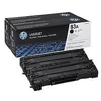 Картридж HP 83A LJ M201/M125/M127/M225 Black (2*1500 стр) Dual Pack (CF283AF)
