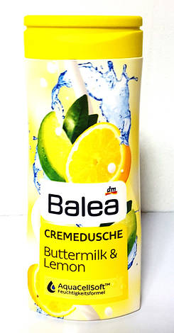 Гель для душа Balea Buttermilk & Lemon 300 ml, фото 2