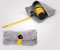 Компактный карманный зонт Black Nano + сумочка