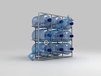 Стеллаж для воды на 9 бут.