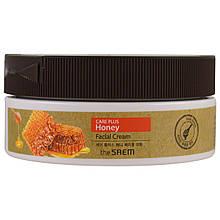 Медовый крем для лица The Saem CARE PLUS Honey Facial Cream, 200ml