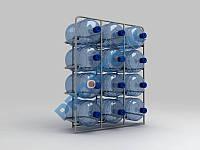 Стеллаж для воды на 12 бут.