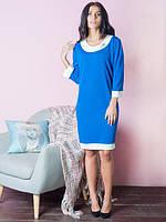 Трикотажное платье большого размера Ириска , 50-56рр