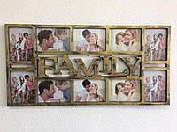 ТОП ВИБІР! Мультірамка для фотографій на стіну Family (23), 1002095,