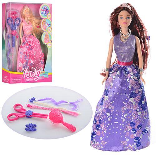 Кукла LH201524 + набор парикмахера