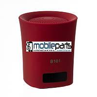 Портативная колонка (Аудиоколонка) BLUETOOTH 101 (Красная)