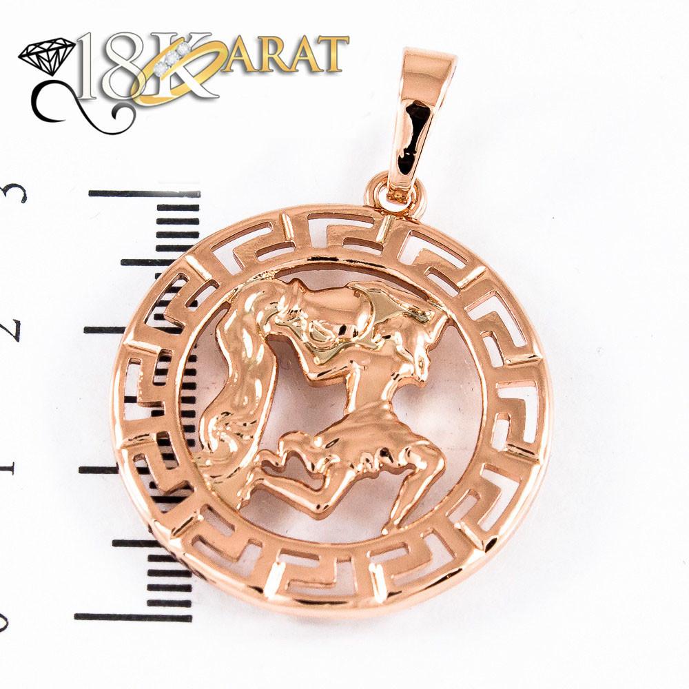 """Кулон xuping  знак зодиака """" Водолей""""  3.5см 9187"""