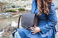 Кожаная сумка ручной работы (метод горячего тиснения) LOD -6, фото 1