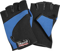 Перчатки Dragon Неопреновые сине-чёрные
