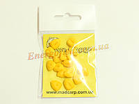 Наживка силиконовая Mad Carp Кукуруза желтая