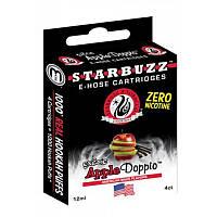 Картриджи для электронных кальянов STARBUZZ E-HOSE Apple Doppio (Аромат зеленого и красного яблока) №17584-2