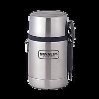 Термос пищевой с ложкой Stanley Adventure 0.5 Л Стальной, фото 1