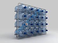 Стеллаж для воды на 20 бут.