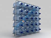 Стеллаж для воды на 25 бут.