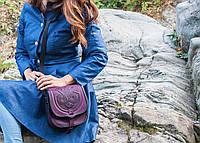 Женская кожаная сумка ручной работы (метод горячего тиснения) LOD -8