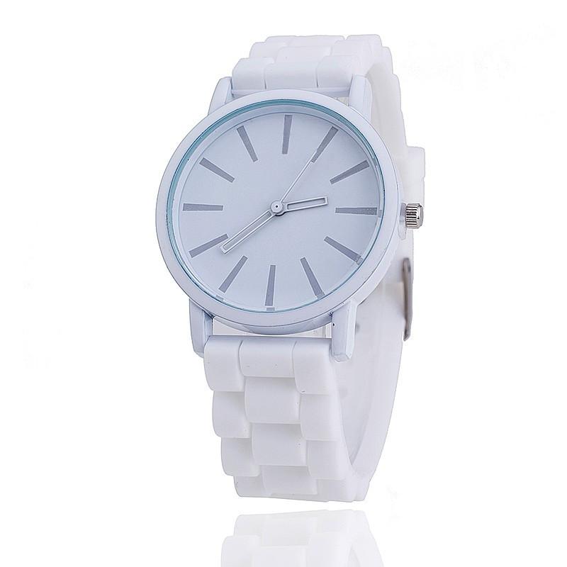7eb25771ecf1 Женские часы Geneva quartz белые, цена 130,77 грн., купить в Виннице ...