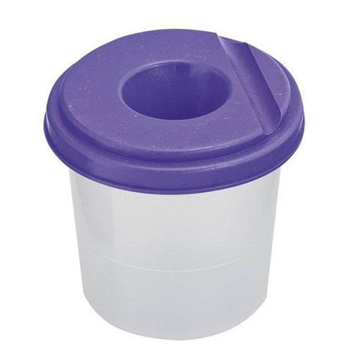 Стакан -непроливайка, фіолетовий