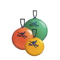 Мяч попрыгунчик Фитбол с Ручкой LEDRAGOMMA PonPon